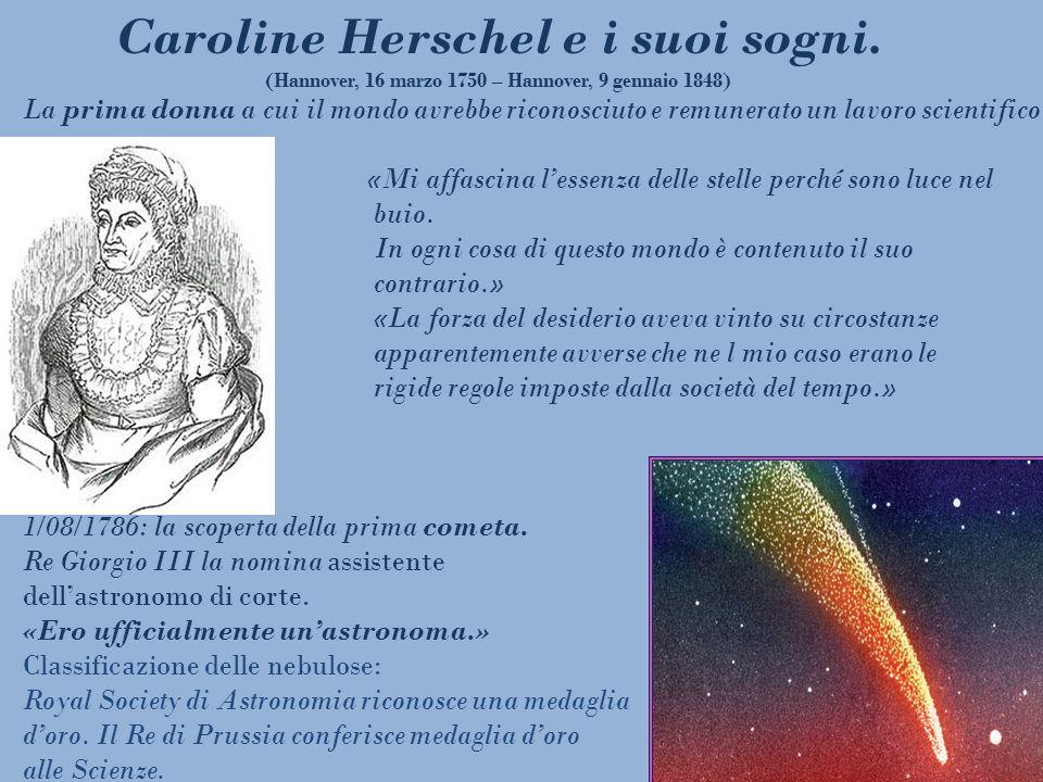 Caroline Herschel e i suoi sogni