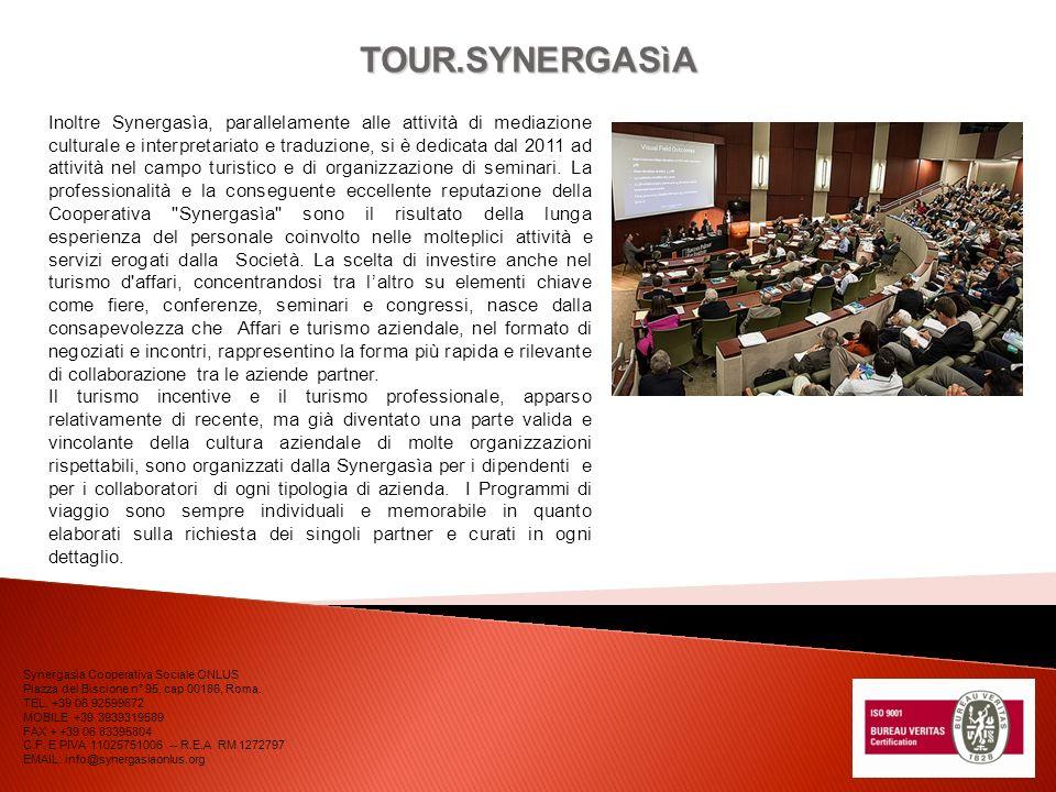TOUR.SYNERGASìA