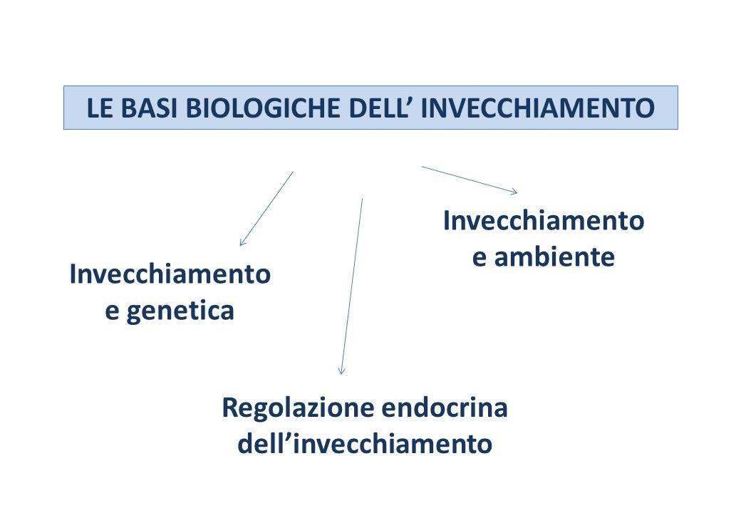 LE BASI BIOLOGICHE DELL' INVECCHIAMENTO