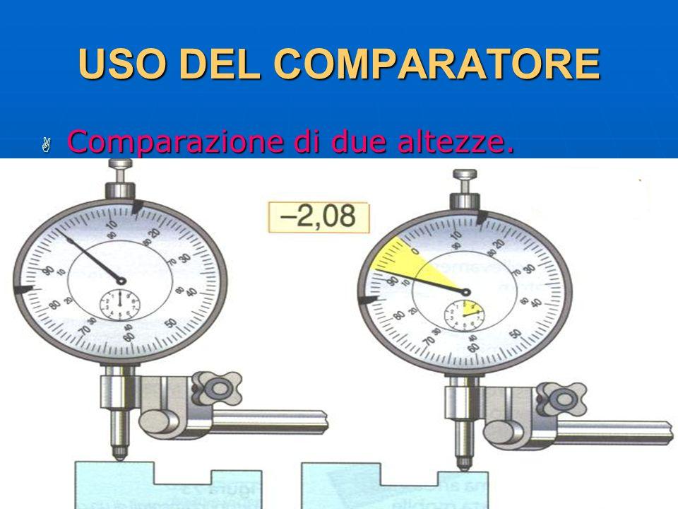 USO DEL COMPARATORE Comparazione di due altezze. 29/03/2017 DLA