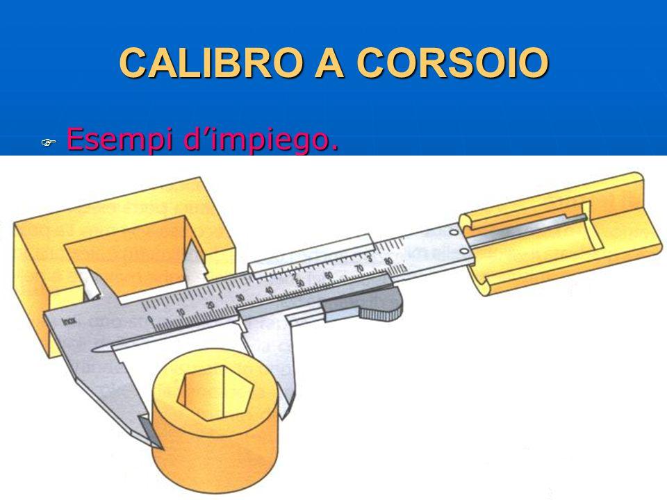 CALIBRO A CORSOIO Esempi d'impiego. 29/03/2017 DLA