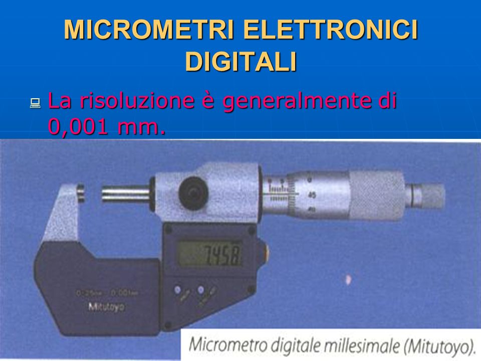 MICROMETRI ELETTRONICI DIGITALI