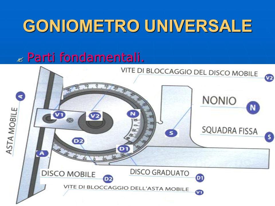 GONIOMETRO UNIVERSALE