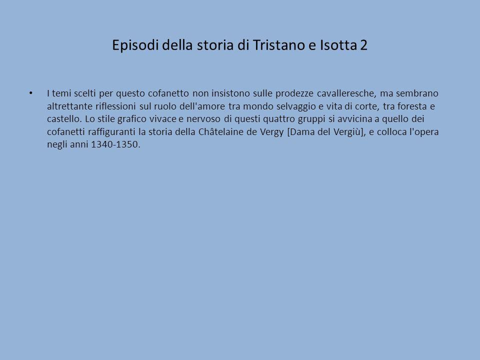 Episodi della storia di Tristano e Isotta 2