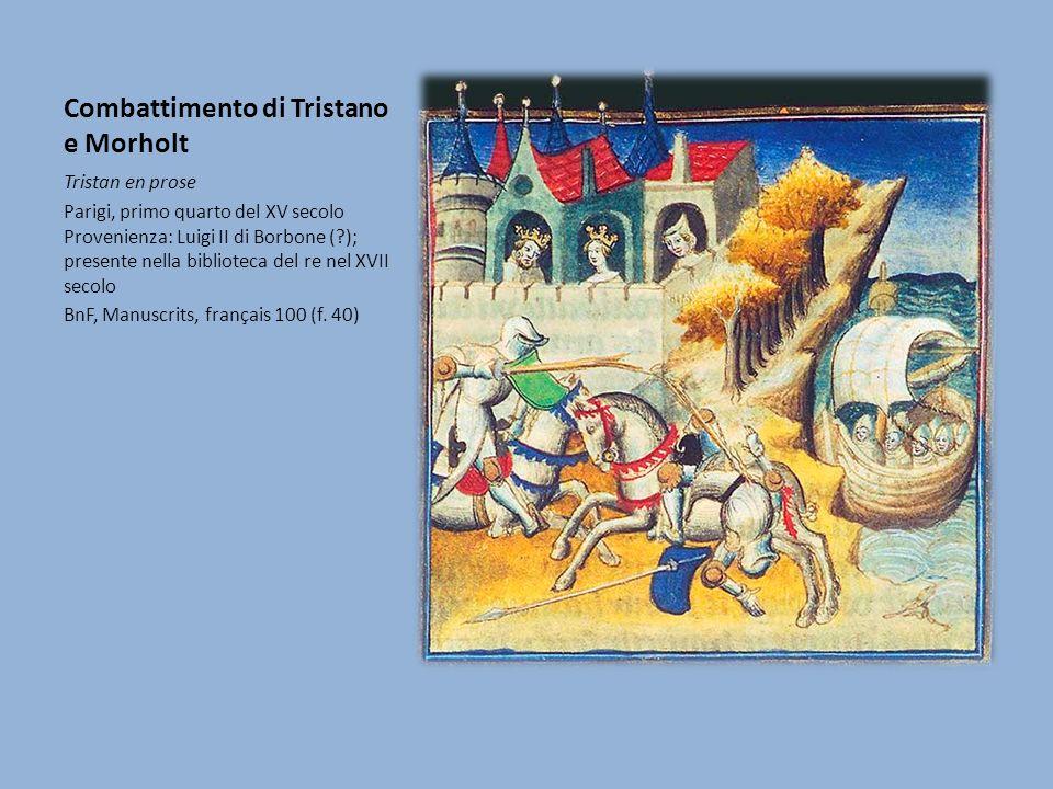 Combattimento di Tristano e Morholt