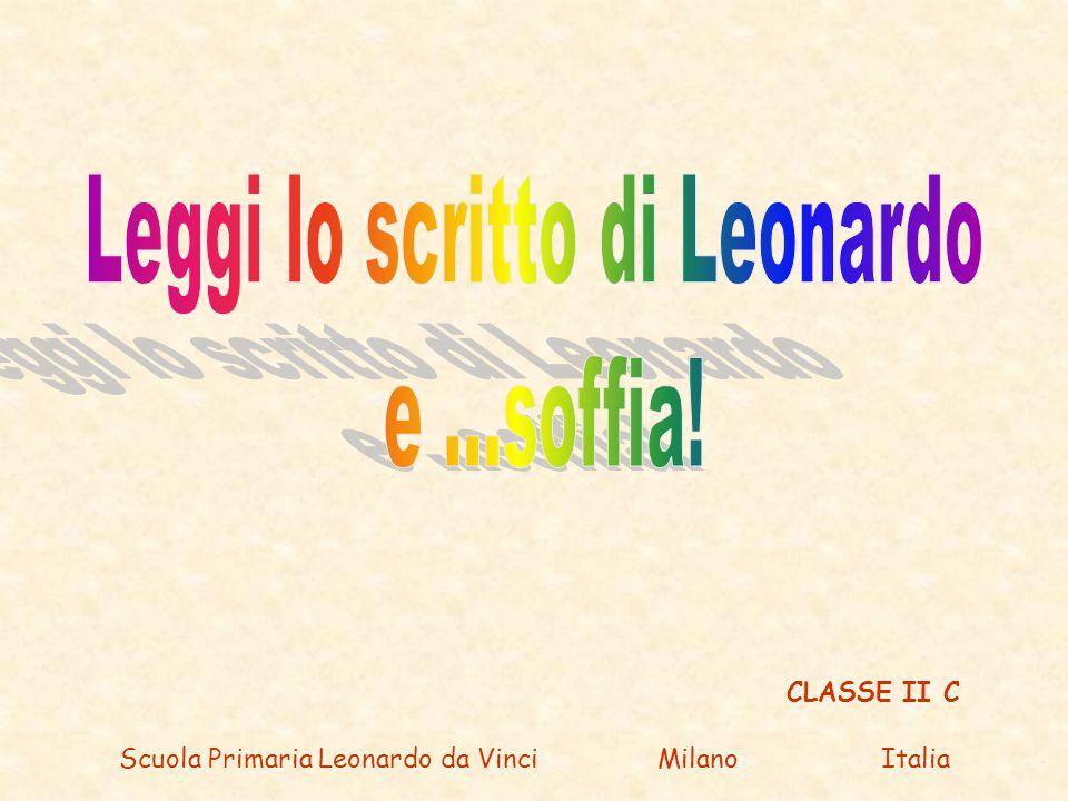 Leggi lo scritto di Leonardo e ...soffia!