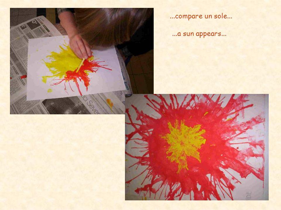 ...compare un sole... ...a sun appears...