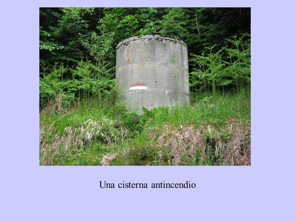 Una cisterna antincendio