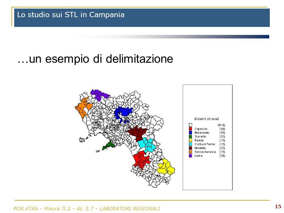 Lo studio sui STL in Campania