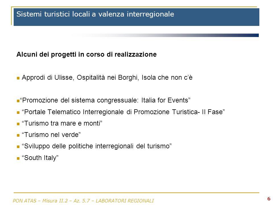 Sistemi turistici locali a valenza interregionale