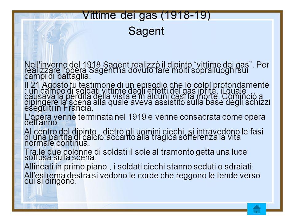 Vittime dei gas (1918-19) Sagent