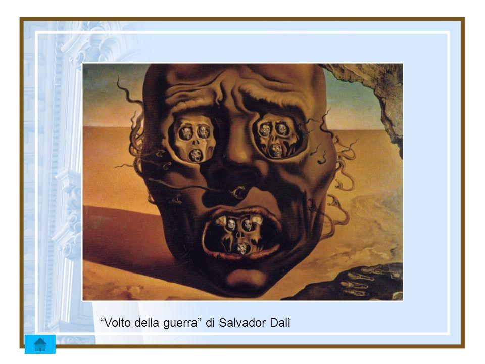 Volto della guerra di Salvador Dalì