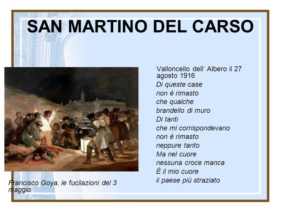 SAN MARTINO DEL CARSO Valloncello dell' Albero il 27 agosto 1916