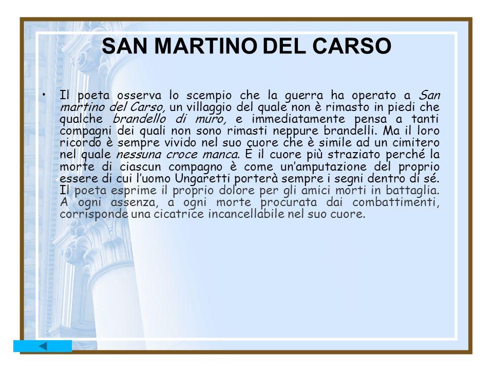 SAN MARTINO DEL CARSO