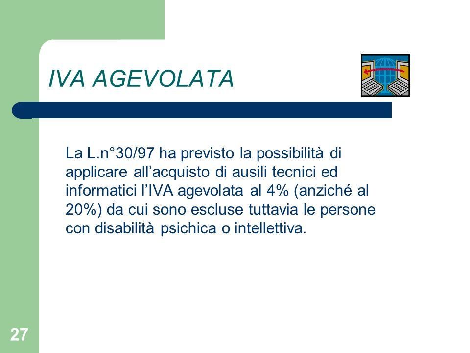 Le agevolazioni fiscali per i disabili ppt scaricare - Iva agevolata acquisto mobili ...