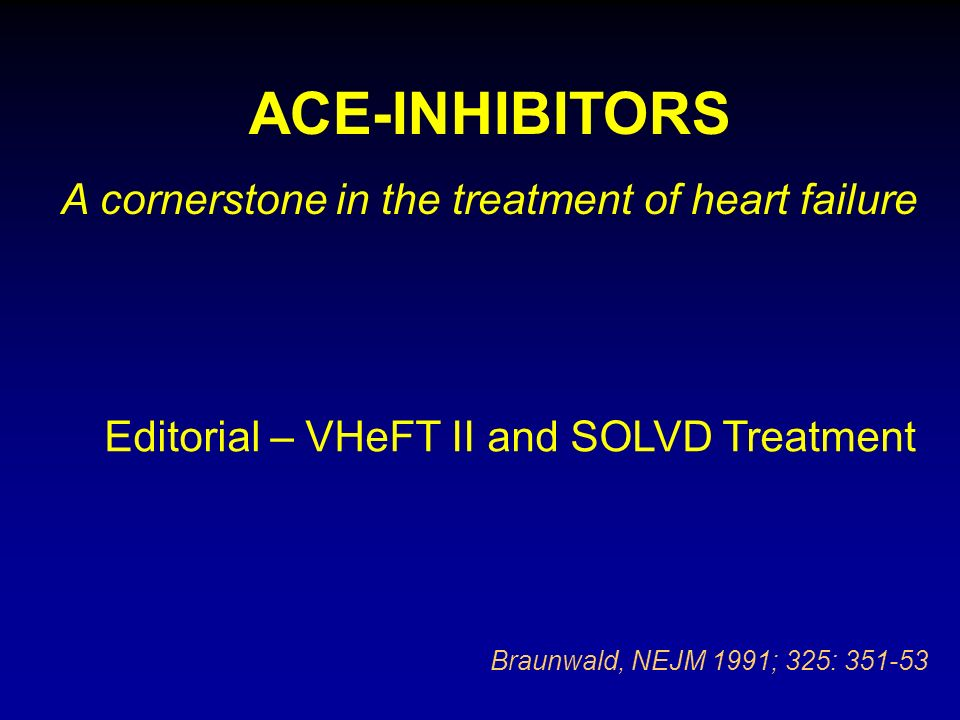 A cornerstone in the treatment of heart failure