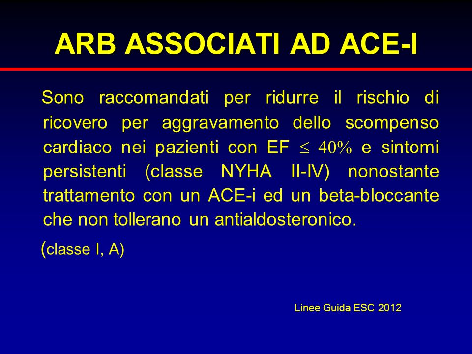 ARB ASSOCIATI AD ACE-I