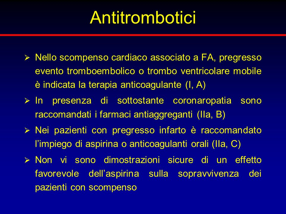 Antitrombotici