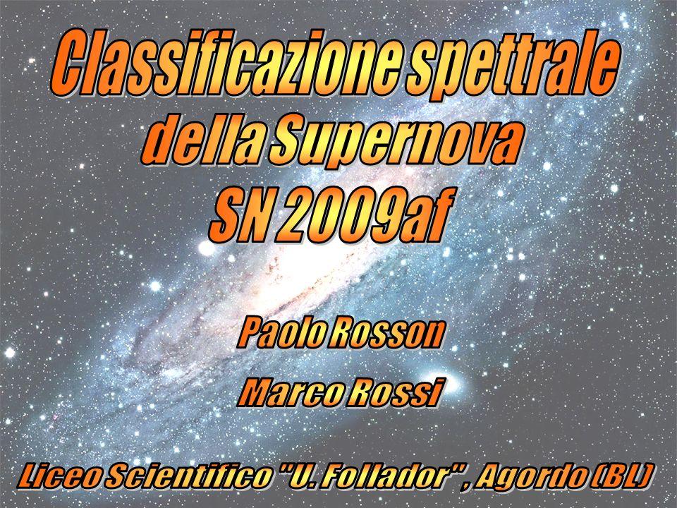 Classificazione spettrale