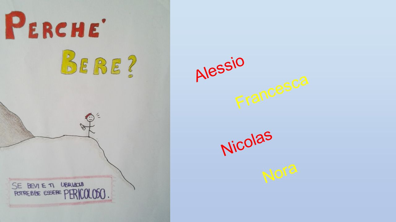 Alessio Francesca Nicolas Nora