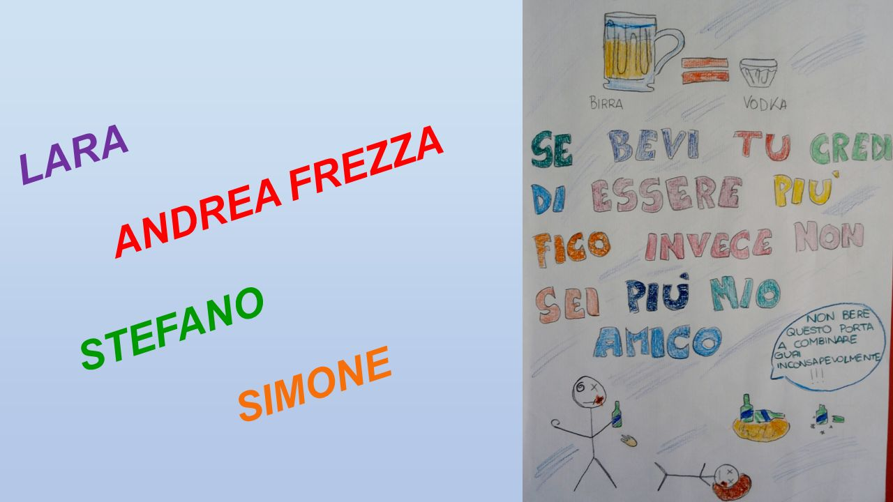 LARA ANDREA FREZZA STEFANO SIMONE