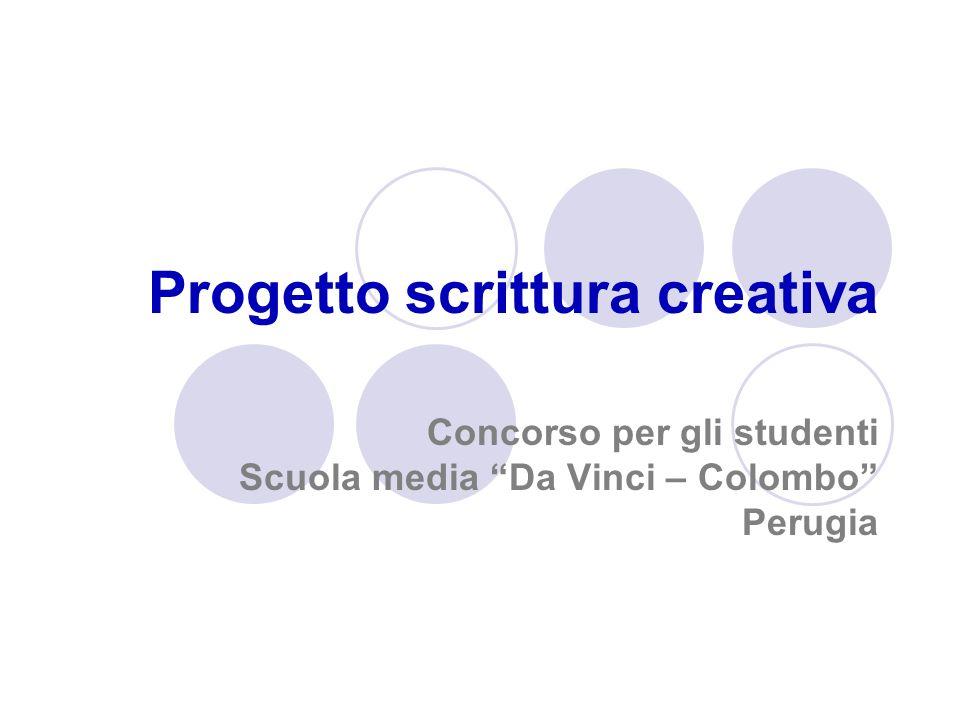 Progetto scrittura creativa
