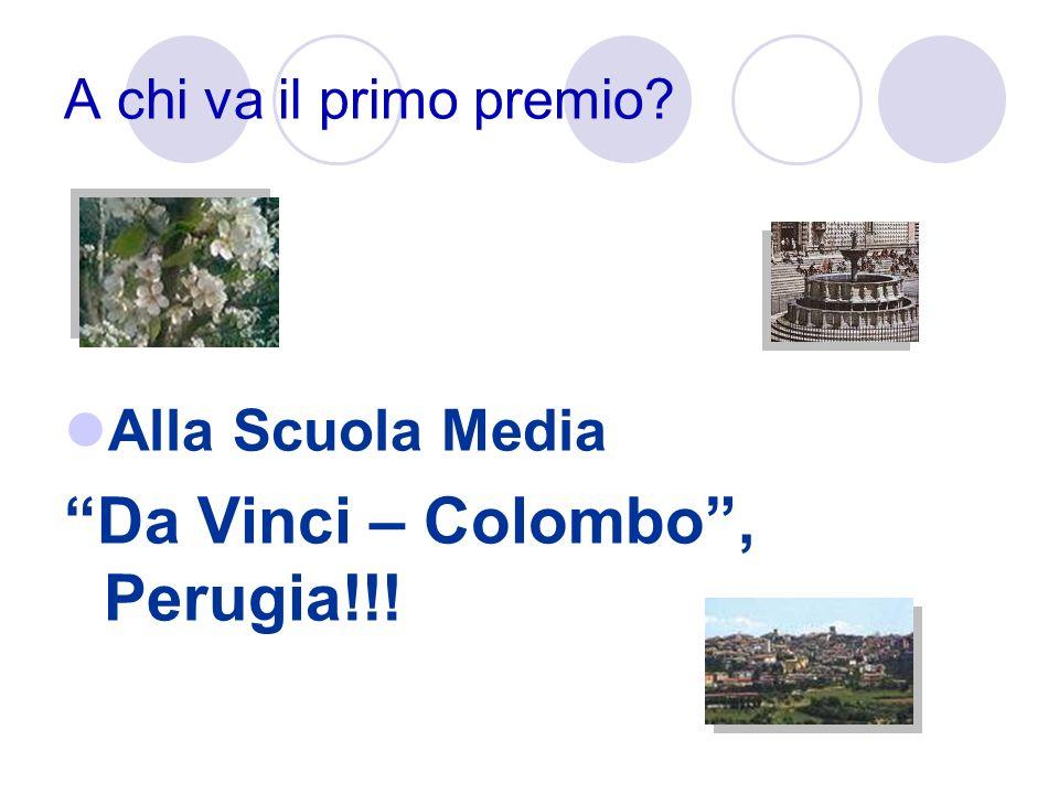Da Vinci – Colombo , Perugia!!!