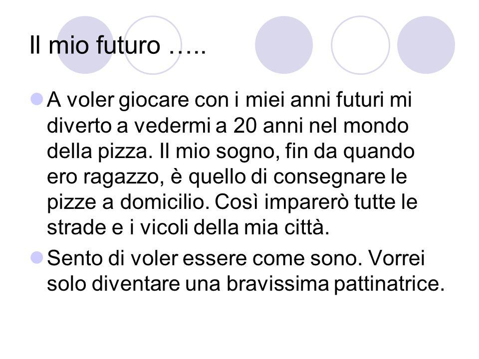 Il mio futuro …..