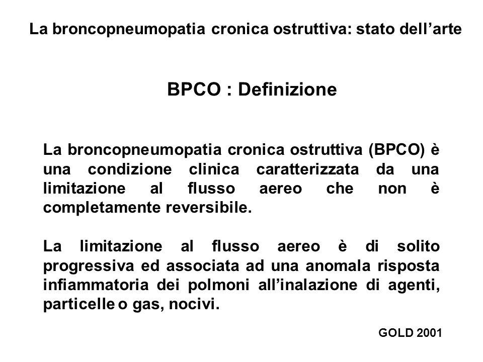 La broncopneumopatia cronica ostruttiva: stato dell'arte
