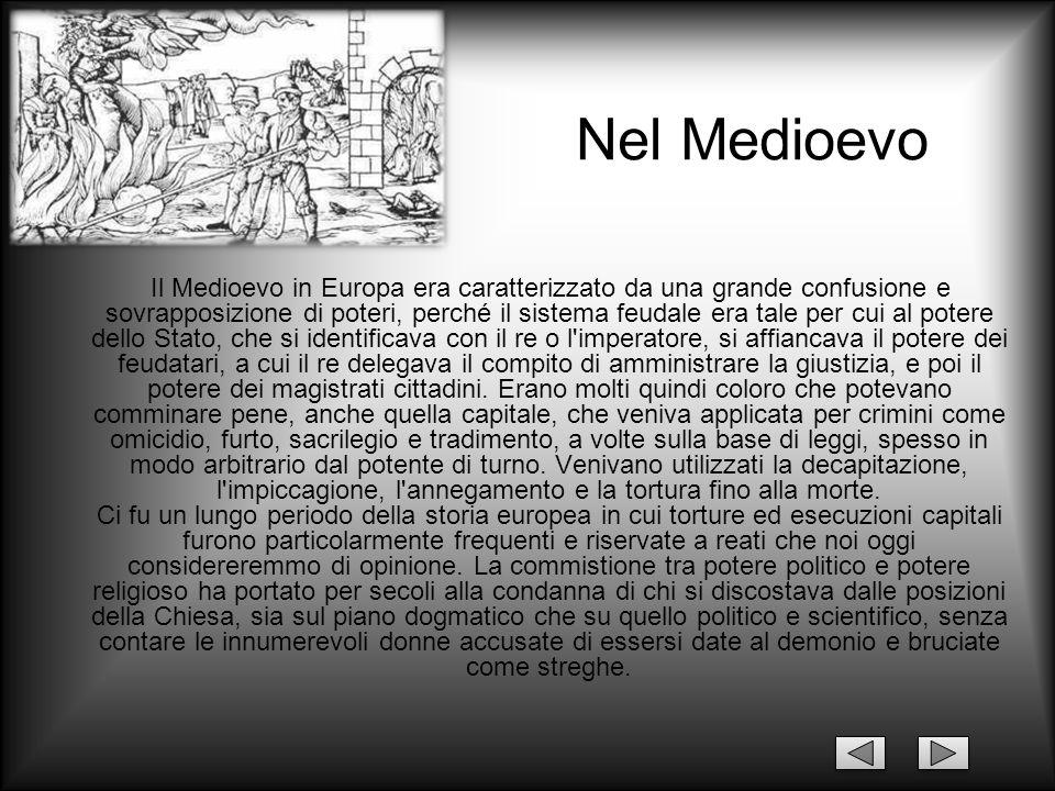 Nel Medioevo