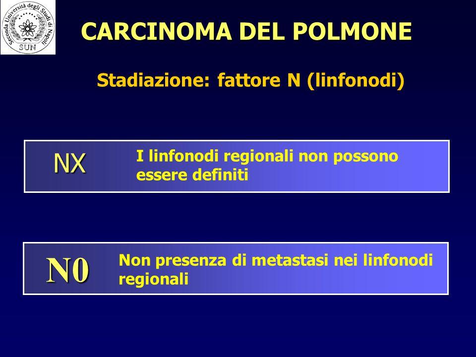 Stadiazione: fattore N (linfonodi)