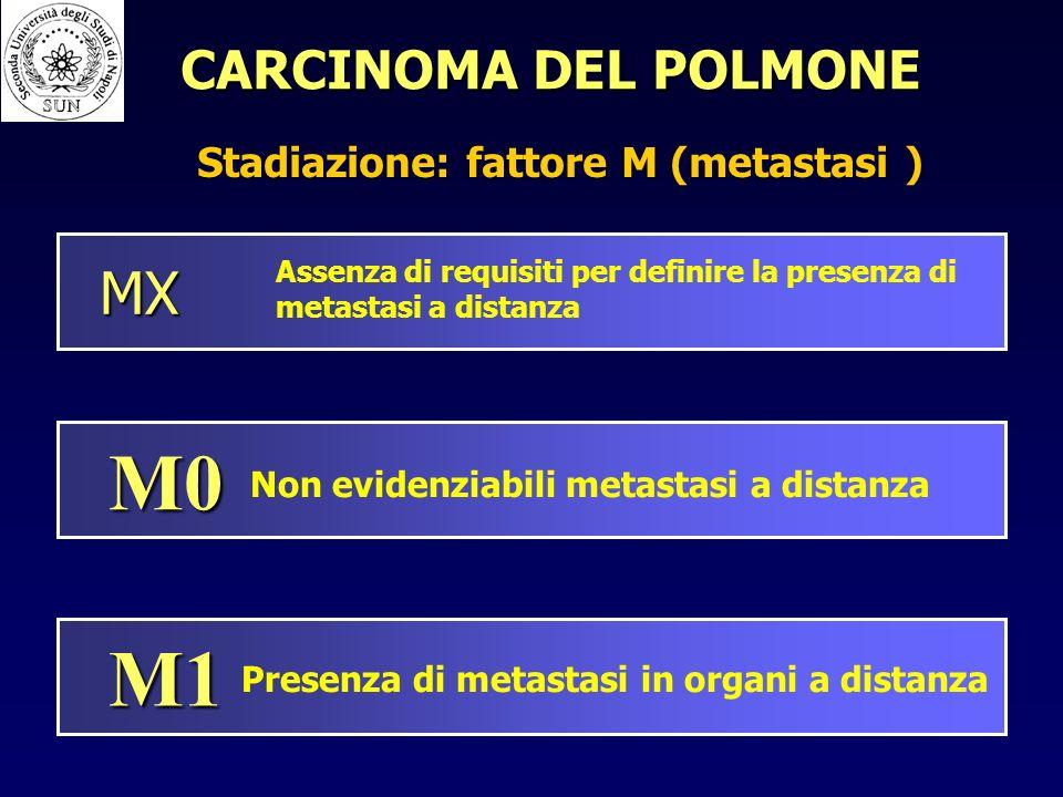 Stadiazione: fattore M (metastasi )