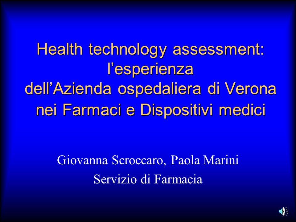 Giovanna Scroccaro, Paola Marini Servizio di Farmacia