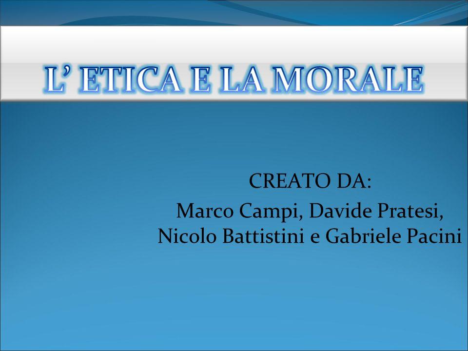 Marco Campi, Davide Pratesi, Nicolo Battistini e Gabriele Pacini