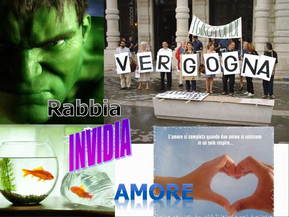 Rabbia INVIDIA Amore