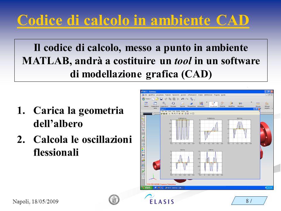 Codice di calcolo in ambiente CAD