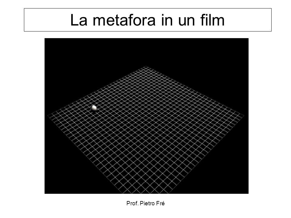 La metafora in un film Prof. Pietro Fré