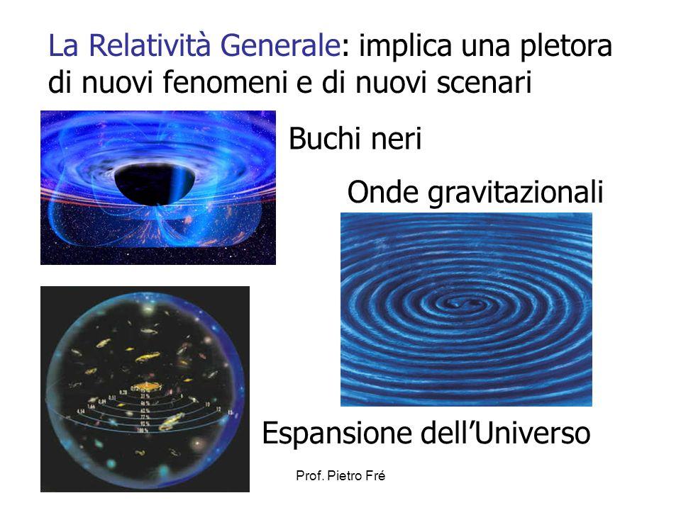 La Relatività Generale: implica una pletora