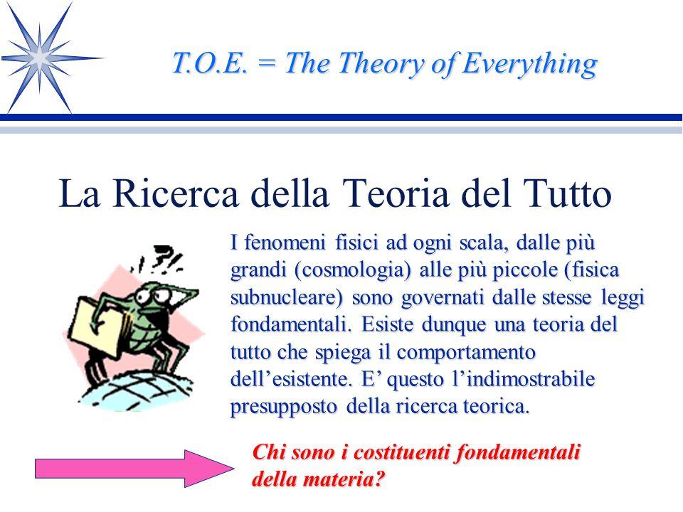 La Ricerca della Teoria del Tutto