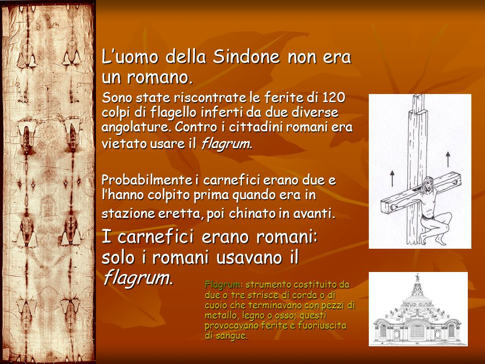 L'uomo della Sindone non era un romano.