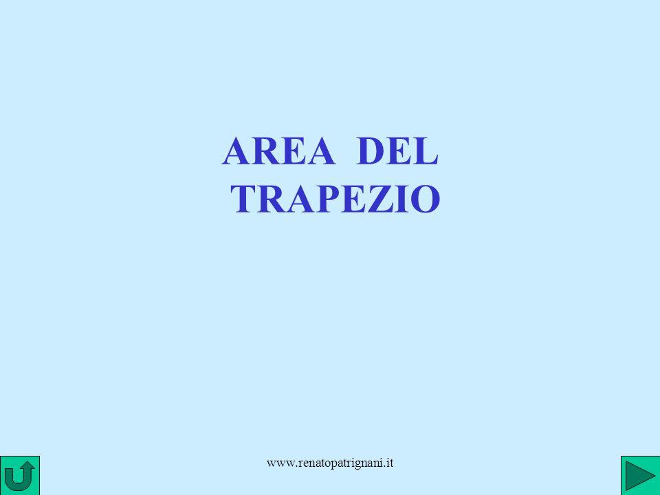 AREA DEL TRAPEZIO www.renatopatrignani.it