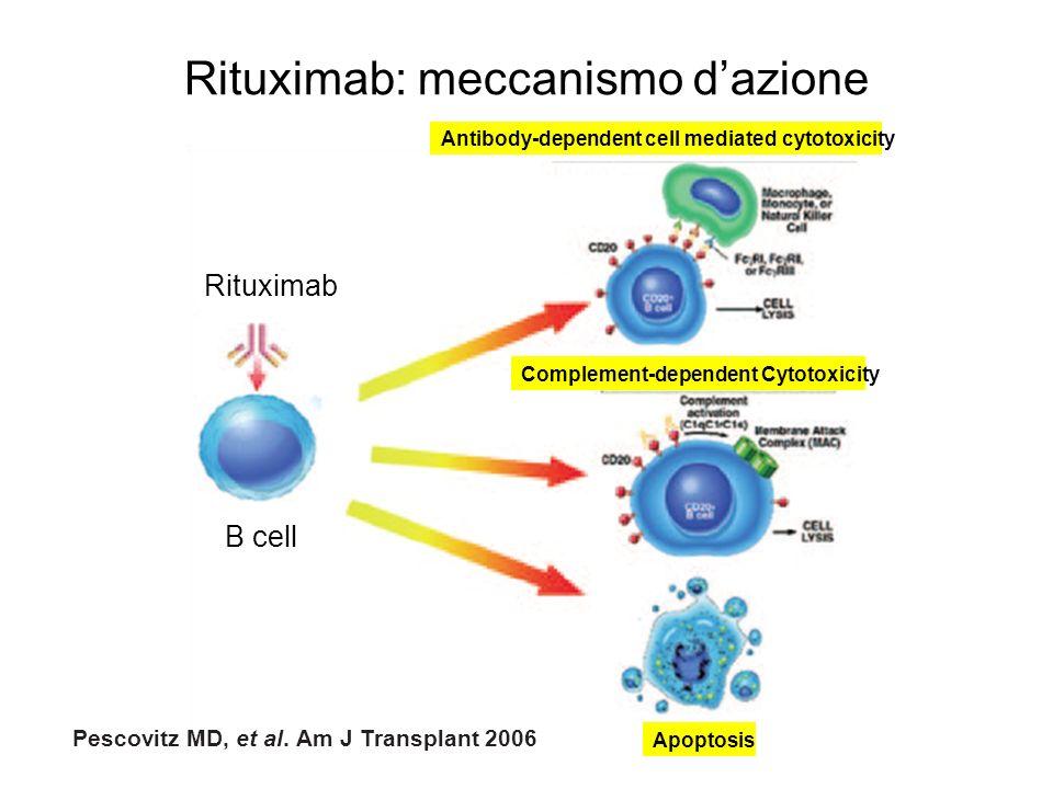 Rituximab: meccanismo d'azione