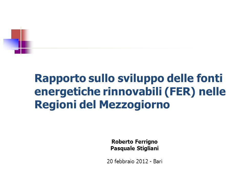Roberto Ferrigno Pasquale Stigliani 20 febbraio 2012 - Bari