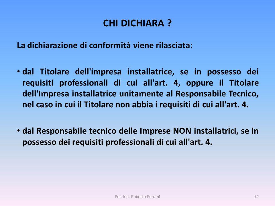Per. Ind. Roberto Ponzini