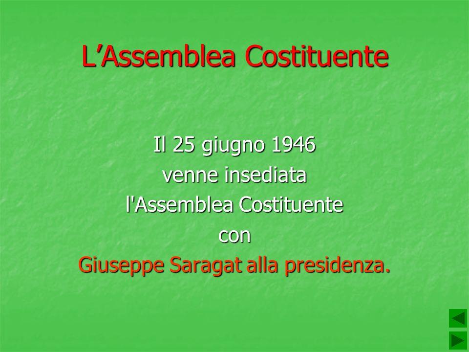 L'Assemblea Costituente