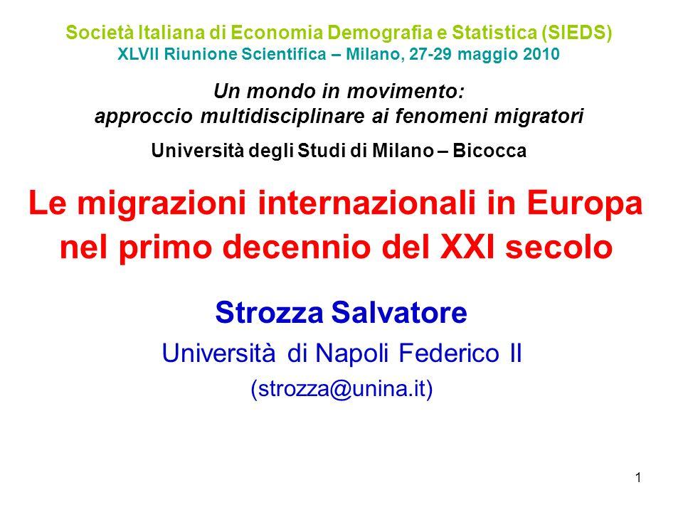 Strozza Salvatore Università di Napoli Federico II (strozza@unina.it)