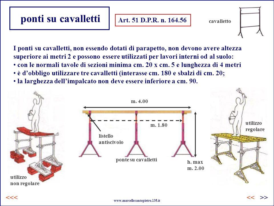 ponti su cavalletti Art. 51 D.P.R. n. 164.56