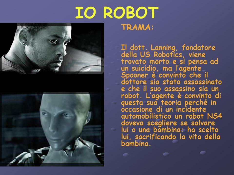 IO ROBOT TRAMA: