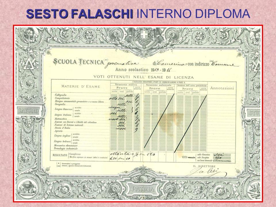 SESTO FALASCHI INTERNO DIPLOMA