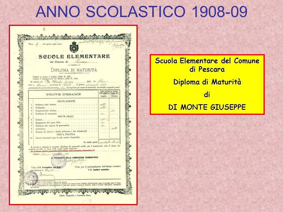 Scuola Elementare del Comune di Pescara